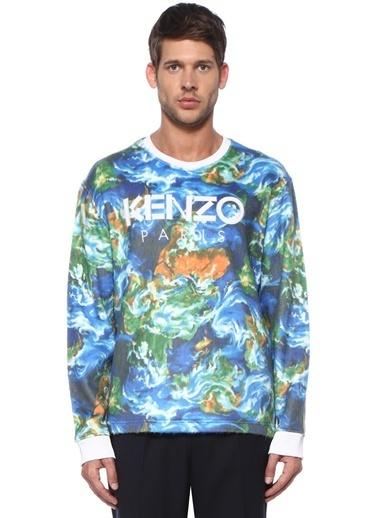 Kenzo Sweatshirt Mavi